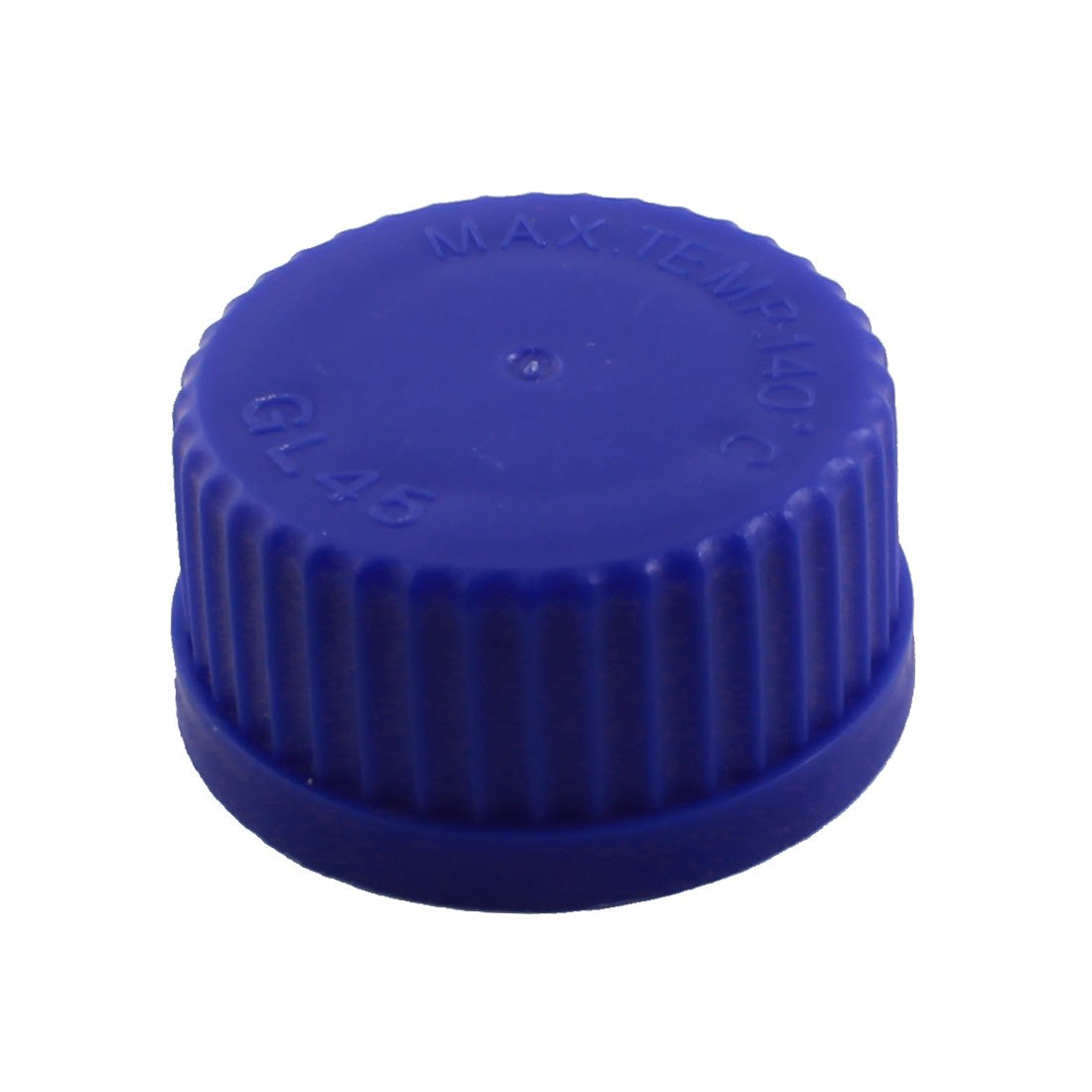 uxcell 45mm Thread Dia Laboratory Blue Screw Lid Reagent Bottle Container Cap