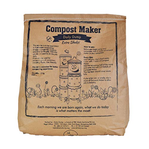 Daily Dump Compost Maker Remix Powder with added Microbes