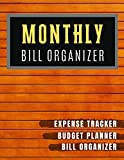 Monthly Bill Organizer: Bill planner Worksheet