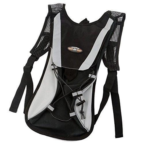 PRIMI Klettern Wandern Wasser Blase Sport Rucksack Bike Bag pouch-black