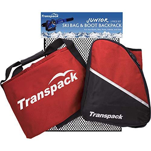 (Transpack Alpine Junior Kids Ski and Boot Bag)