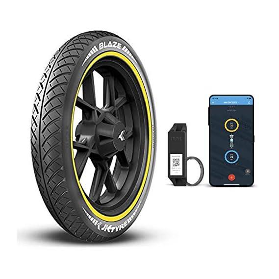 JK Tyre Smart BLAZE BF32 90/90-17 Tubeless Bike Tyre, Front