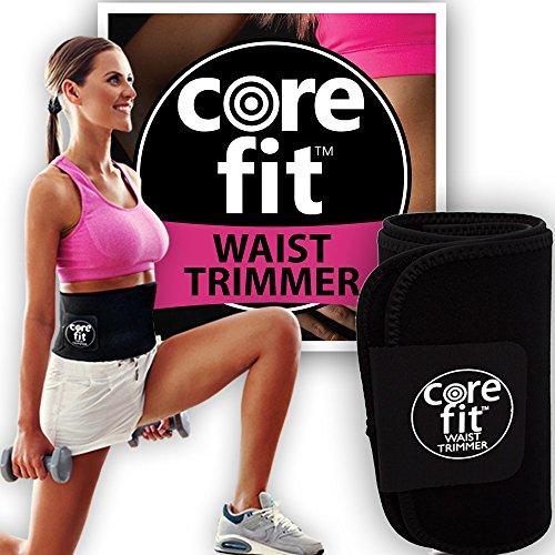 Waist Trimmer Belt for Women, Weight Loss Waist Trainer for Women Abdominal Workout Belt, Neoprene Sauna Belt for Women, Sweat Belt for Women, Exercise Belt for Stomach by CoreFit
