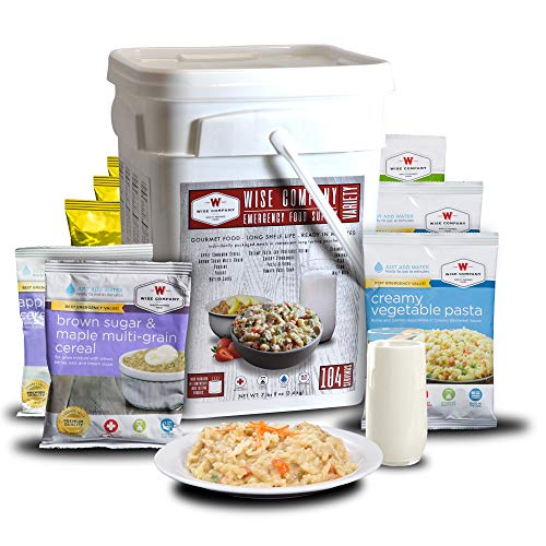 - Wise Company Emergency Food Variety Pack (104-Serving)