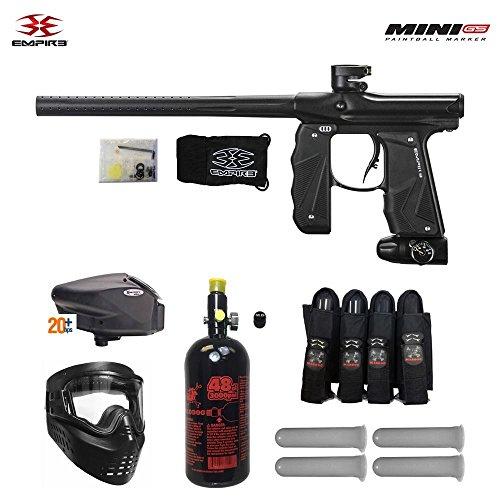 Empire Mini GS Expert HPA Paintball Gun Package - Dust Black