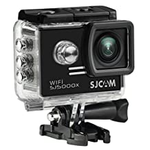 SJCAM SJ5000X Elite Action Camera 4K 1080P WiFi Waterproof 170°Wide Angle Lens 12MP SONY IMX078 Gyro AV or HDMI Out And OSD Enabled (Black)