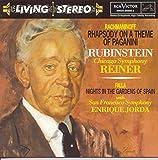 Rachmaninoff: Rhapsody on a Theme of Paganini / Falla: Nights in the Gardens of Spain / Chopin: Andante Spianato & Grande Polonaise