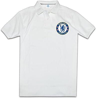 Para hombre en línea la Liga de Campeones de la UEFA de manga corta camiseta de Club de fútbol Chelsea Logo Polo: Amazon.es: Libros