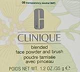 Clinique Blended Face Powder plus Brush, No. 08