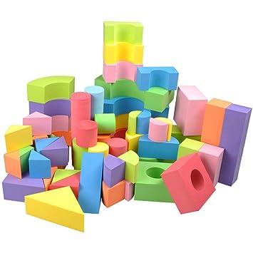Kinder Schaumstoffe Baustein Puzzle Spielzeug 70 PCS