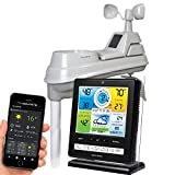 AcuRite 02032 Pro Weather Station with PC Connect, 5-in-1 Weather Sensor and My AcuRite Remote Monitoring App