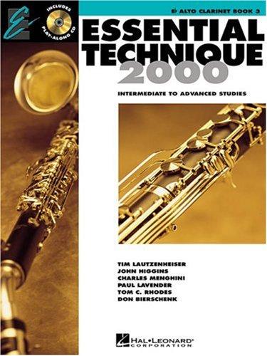 Essential Technique 2000: E Flat Alto Clarinet, Level 3 (Essential Elements Method) (Essential Elements 2000 Book 3)