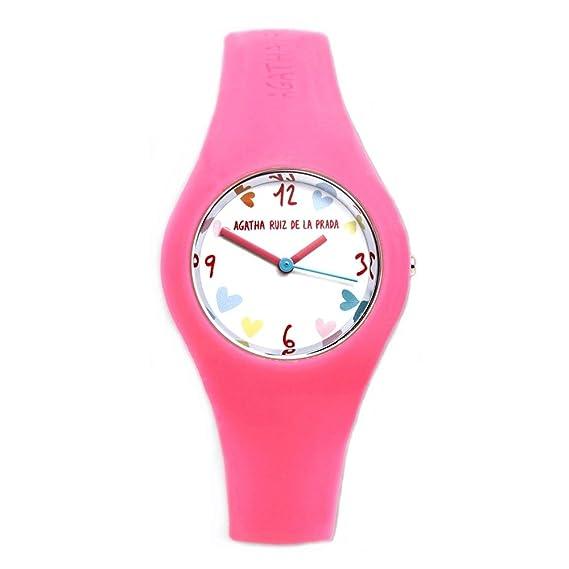 Reloj Agatha Ruiz de la Prada AGR223 - Reloj chica POLO Rosa: Amazon.es: Relojes