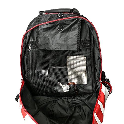 5712c143d608 Progear Soccer Backpack w Ball Pocket – Sports Gym Bag Holds - Import It All