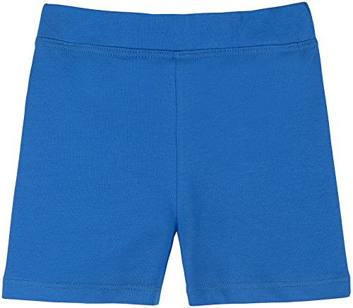 Lovetti Girls' Basic Solid Soft Dance Short for Gymnastics or Under Skirts 11 Royal Blue