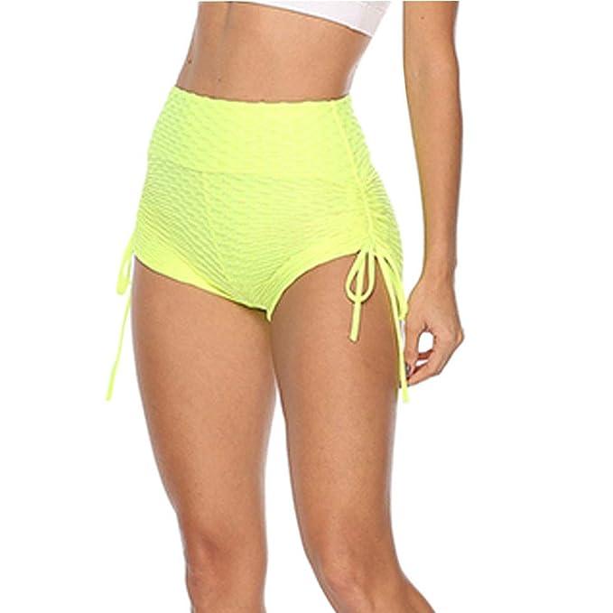 Daytwork Yoga Correr Entrenamiento Pantalones Cortos - Mujer ...