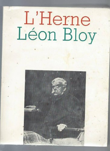 Léon Bloy (L'Herne) (French Edition)