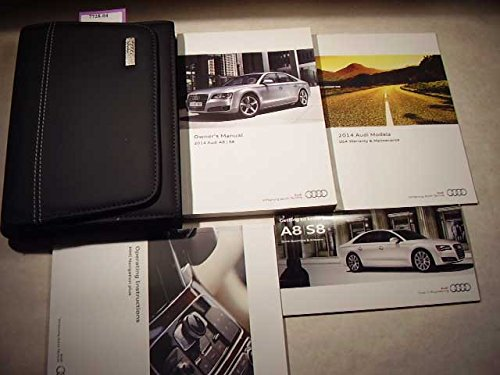 2014 Audi A8, S8 With MMI navigation booklet Owners Manual