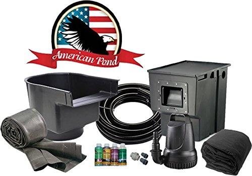 Pond American Kit (American Pond Freedom Series 16' x 16' Medium Pond Kit)