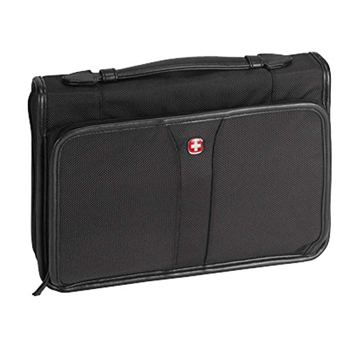 8 x 10.25 inch Ballistic Nylon Fabric Bible Cover Case with Handle ()