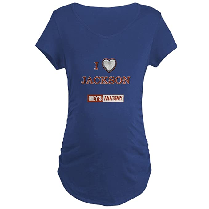 dcd643edefce7 CafePress - I Love Jackson - Cotton Maternity T-Shirt, Side Ruched ...