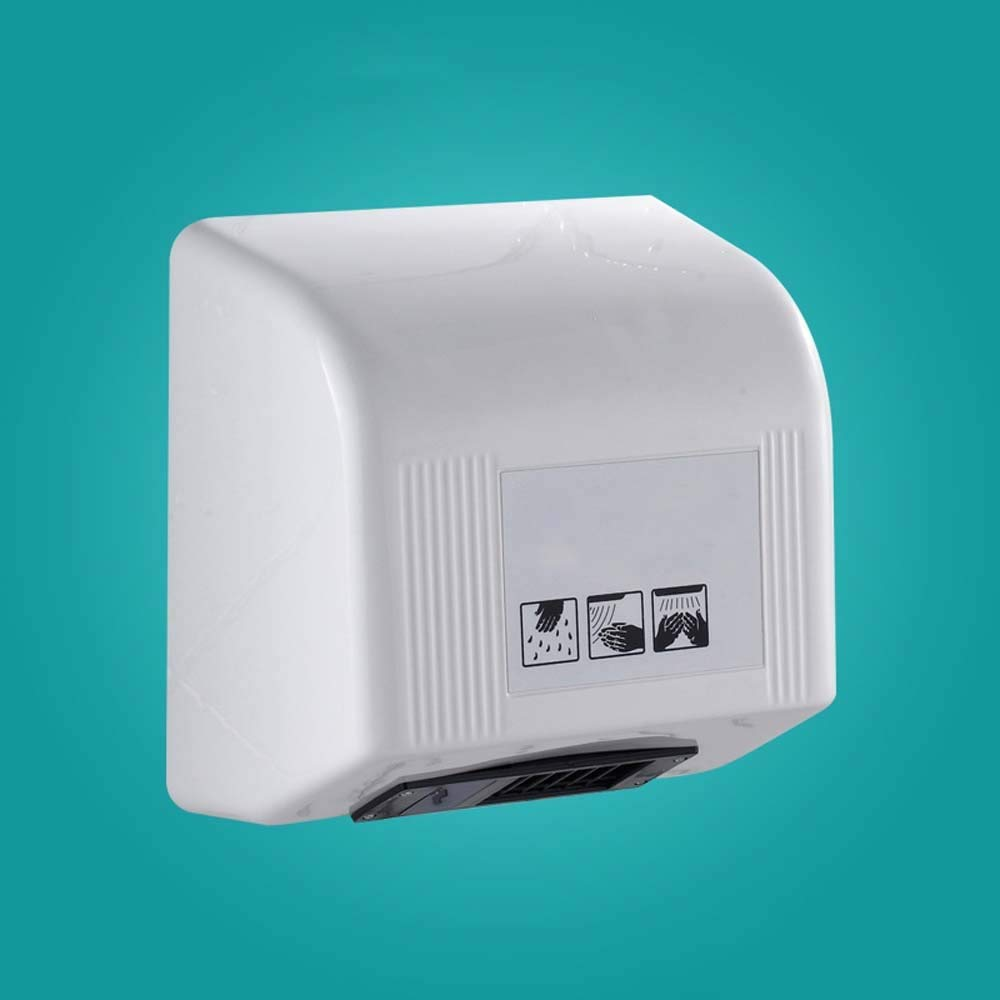 .Hand Dryers Automatic Hand Dryer, High Speed Commercial Hand Dryers,1200W Powerful Heavy Duty Wall-mounted Drying Machine for Bathrooms/Restrooms/Toilets, ABS White Warm Wind Hand Blower Electric Han