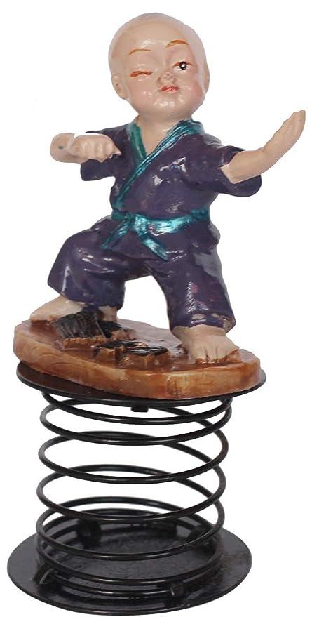 FameUs Child Martial Art Figure (Ready to Fight) Wobble/Bobble