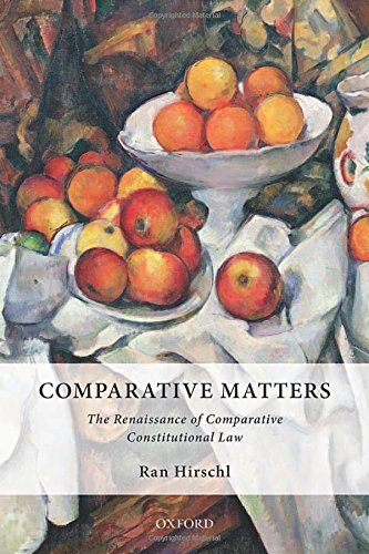 Comparative Matters: The Renaissance of Comparative Constitutional Law (Inglese) Copertina rigida – 1 ago 2014 Ran Hirschl OUP Oxford 0198714513 LAW / Comparative
