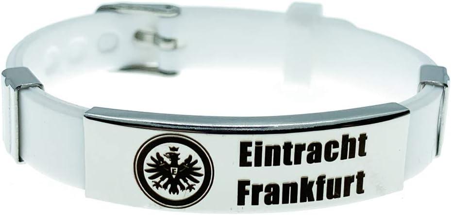 Lorhs store Fu/ßball Bundesliga inspirierende verstellbare Armb/änder Fu/ßballverein Logo Sport Silikon Armband 4 St/ück