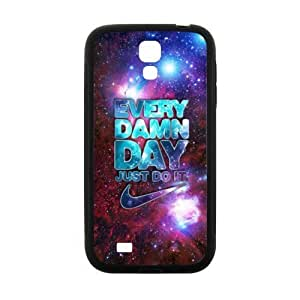 Best SamSung Galaxy Case, First Design Every Damn Day Just Do It for SamSung Galaxy S4 TPU (Laser Technology) Case Cover New Style