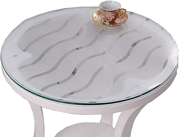 HZPXSB Set de Table avec Jardin Transparent Rond de Table de ...