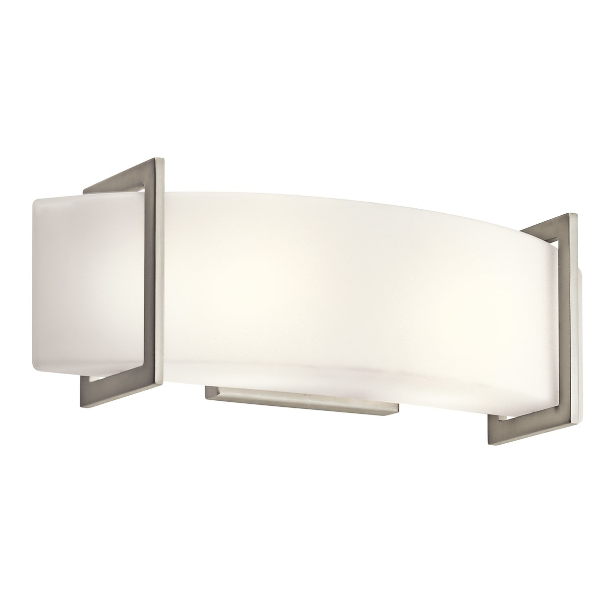 Kichler 45218NI Two Light Linear Wall Sconce   Bathroom Light Fixtures    Amazon.com