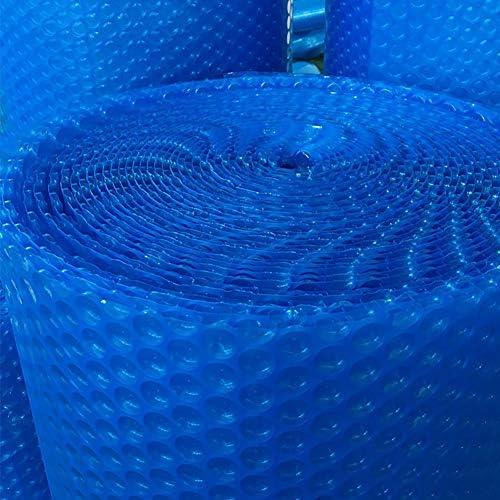 プールカバー 青い ソーラー保温カバー、矩形 プール安全カバー、防塵 ソーラーブランケット ために ガーデンプール 温水浴槽、テーピングエッジ (Size : 2×8m(6ft×26ft))