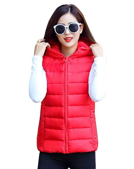 Yiiquan - Chaleco - chaqueta guateada - Sin mangas - para hombre 5lSdOoaKi2