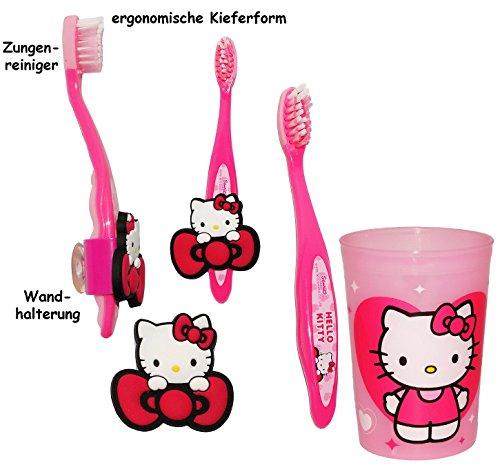 Set _ ergonomische Zahnbürste -