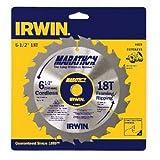 IRWIN Tools MARATHON Carbide Cordless Circular Saw Blade, 6 1/2-Inch, 18T (14020) фото
