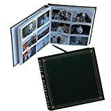 Pioneer Photo Albums 3.5''x5.25'' 300 Photo Full Size Memo Pocket Album - Hunter Green