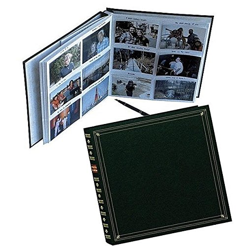 Pioneer Photo Albums 3.5''x5.25'' 300 Photo Full Size Memo Pocket Album - Hunter Green by Pioneer