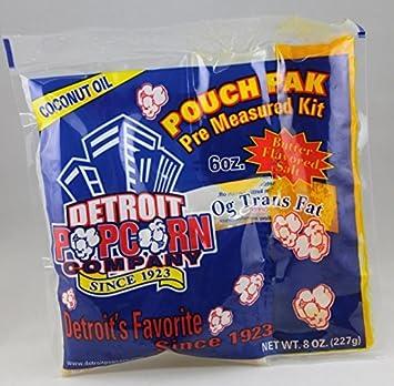 Detroit palomitas de maíz Co. Pak de bolsa (la mantequilla ...