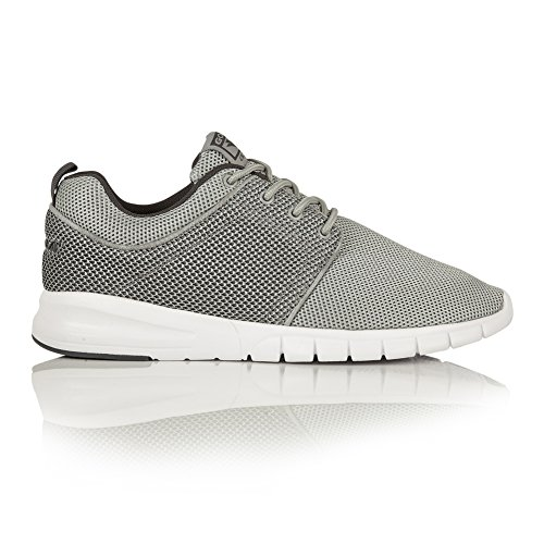 Gola Mens Angelo Flexible Lace Up Lightweight Trainers/Sneakers Gray/Charcoal