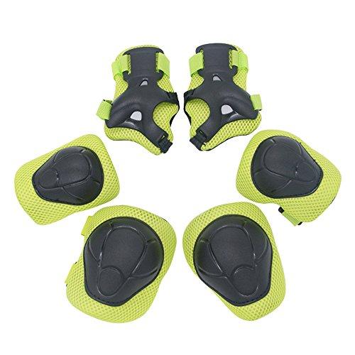 [해외]HelloGO 어린이 보호 대 세트 보호-(손목팔꿈치무릎) 6 점 세트 어린이용 갑옷 / HelloGO Kids Protector Set Protector -(Wrist, Elbow, Knee) 6-Point Set For Children`s Armor
