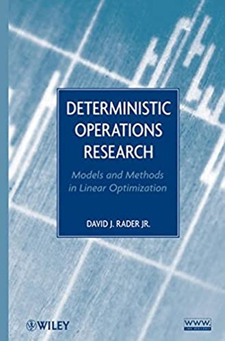 deterministic operations research models and methods in linear rh amazon com CD Manual Clip Art Operations Manual