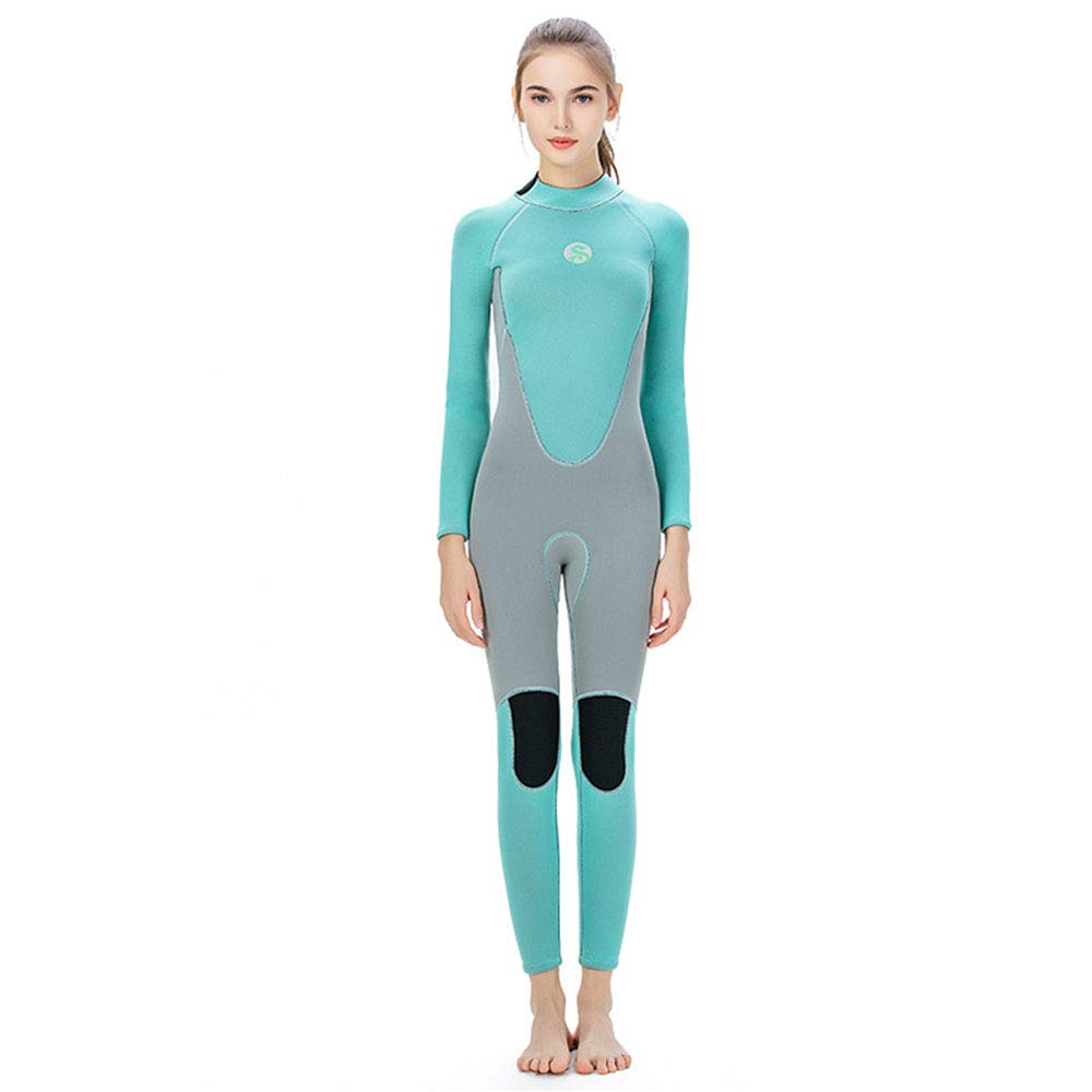 L QYY Female Siamese Diving Suit, Cold and Warm Diving Suit 3mm Siamese Diving Suit Female Wetsuit Diving Surfsuit