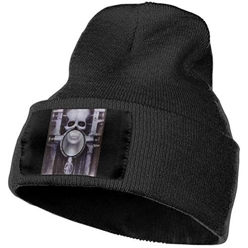 - Enghuaquj Emerson, Lake & Palmer - Brain Salad Surgery Knitted Hat Cap Beanie Black