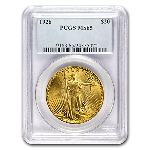 Ms65 Gold Coin - 1926 $20 St. Gaudens Gold Double Eagle MS-65 PCGS G$20 MS-65 PCGS