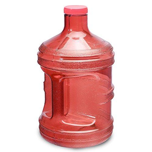 red 1 gallon water jug - 6