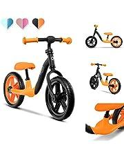 LIONELO Alex loopfiets 39 x 88 x 50-58 cm voor kinderen tot 30 kg, verstelbaar zadel en stuur, lichte wielen, draaivergrendeling, voorgevormde voetsteun