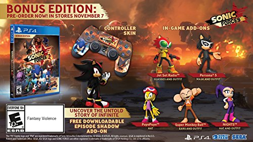 Sonic Forces Bonus Edition   Playstation 4