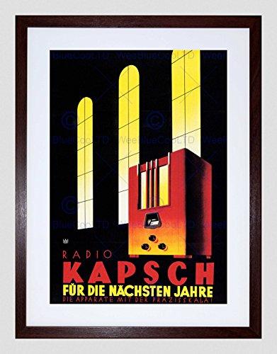 - Commercial Advert Radio Kapsch Austria Black Framed Art Print B12X4253