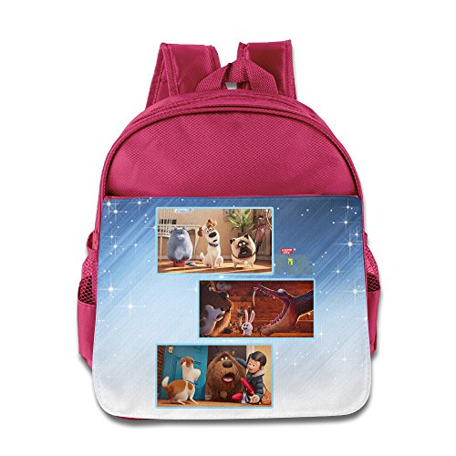 Boomy Cool The Secret Life Of Pets Kids' Backpack For 3-6 Years Old Girls & Boys Pink Size One Size